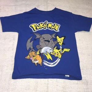 Pokémon Pikachu short sleeve shirt